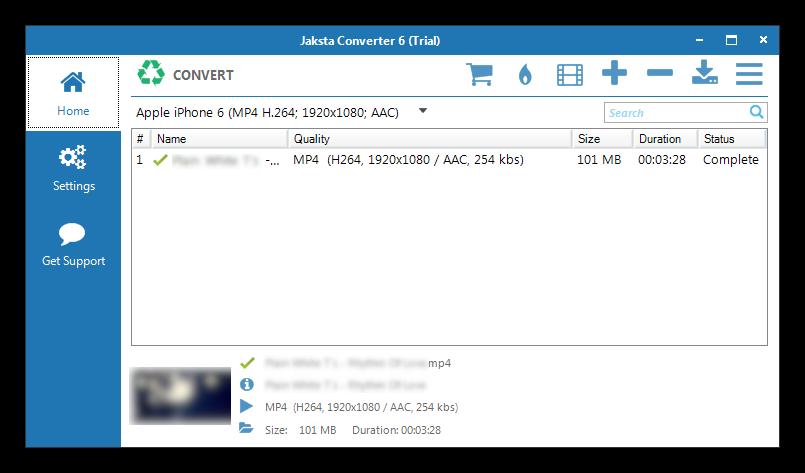 Jaksta Converter For Windows